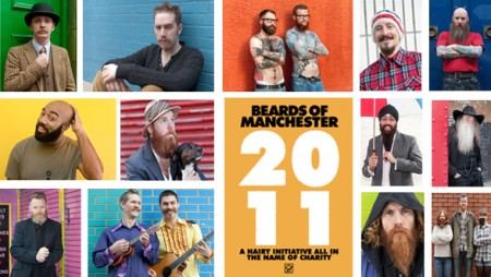 Beards of Manchester Calendar
