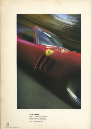 Ferrari 250 GTO on Kodachrome 25 - ©Richard Davies