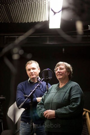 Chris Beardshaw and Christine Walkden the Christmas 2010 Gardeners' Question Time recording