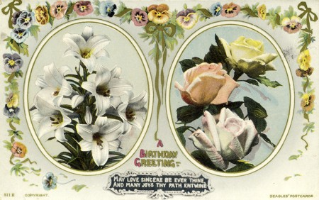 Colour Postcard from approximately 1910