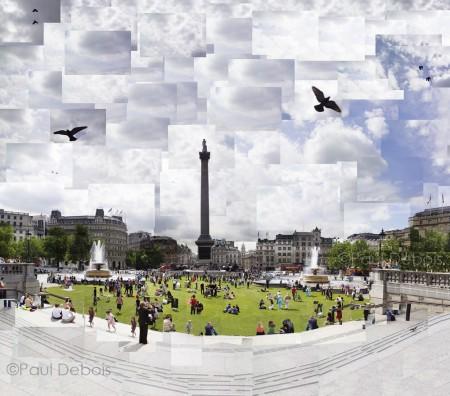 Trafalgar Square montage