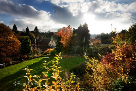 Mill Dene Gardens in Autumn