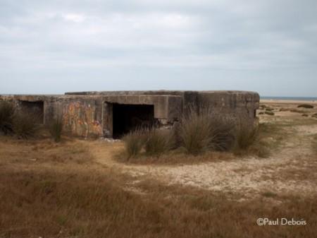 gun turret, near El Palmar