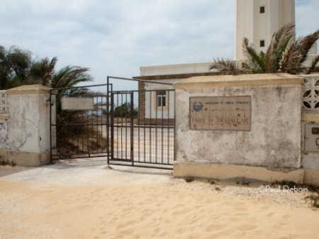 entrance to Cape Trafalgar lighthouse