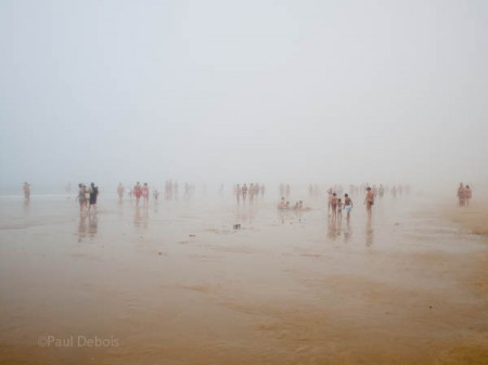 Fog on the beach, Conil
