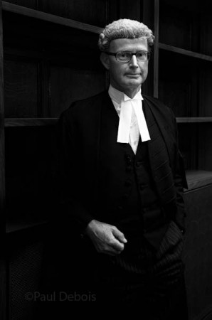 Christopher Parker QC at Ecocide mock trial,  Supreme Court, London, 30-9-11