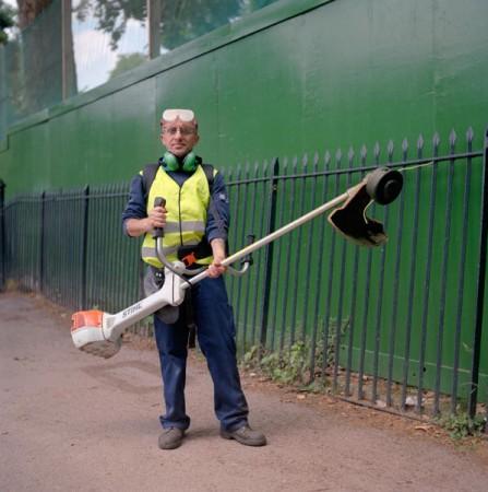 gardener, Fulham Palace