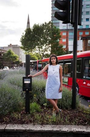 Lyla Patel, guerrilla gardener and blogger