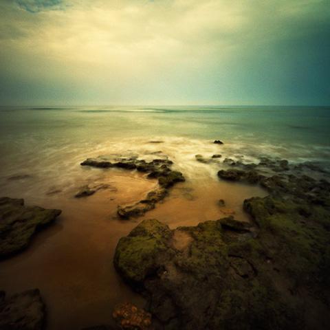 Pinhole Impressions 24 - Beach series