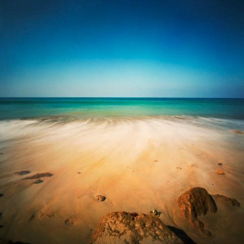 Pinhole Impressions 27 - Beach series
