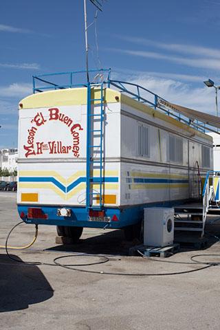 Conil Feria caravan