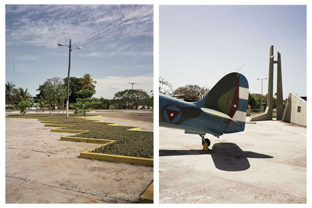 Left: Bay of Pigs. Right: Bay of Pigs Museum