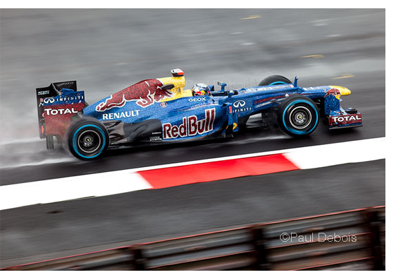 Sebastian Vettel's Red Bull