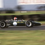 Lotus 49 at Snetterton, driven by Tiff Needell. ©Paul Debois