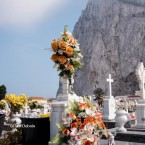 Cemetery next to Airport, Gibraltar