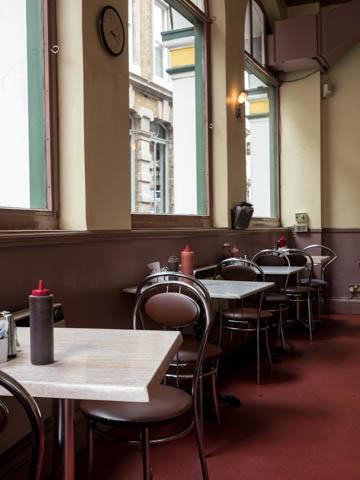 Harpers Cafe, near London Bridge, 16.9.13