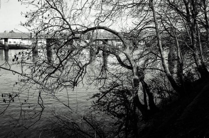 View towards Kew Rail Bridge