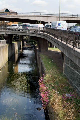 River Brent at Brent Cross