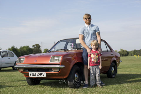 Vauxhall Chevette, Festival of the Unexceptional 2014, Whittlebury Park