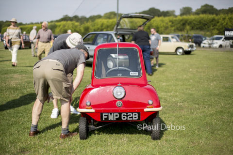 Peel P50 1964, Festival of the Unexceptional 2014, Whittlebury Park