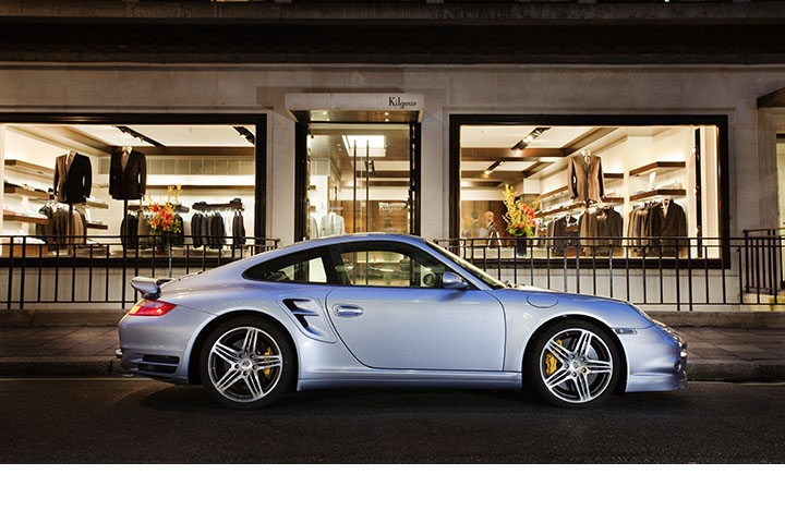 Porsche 911 Turbo, Saville Row